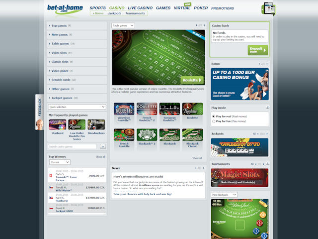 bet-at-home screenshot 1